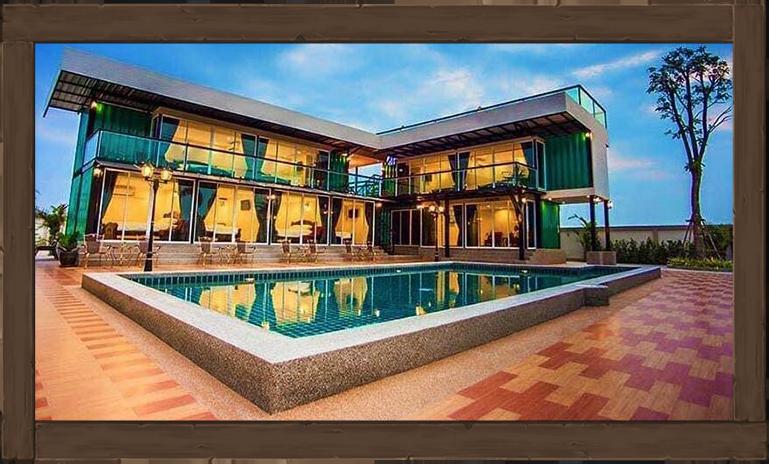 บ้านพักชะอำ เดอะ รอยัล บลูติก The Royal Boutique Poolvilla Cha-Am