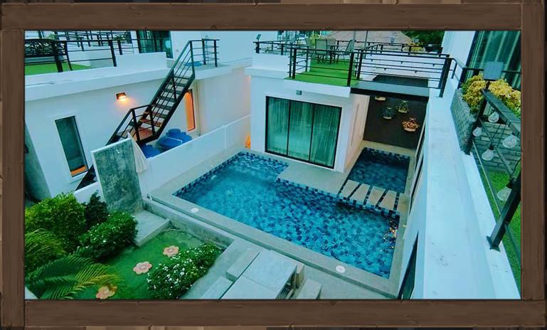 ที่พักหัวหิน ไอสเตย์ พูลวิลล่า  I-Stay Poolvilla Huahin