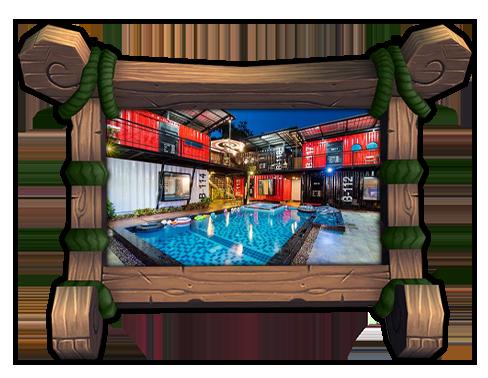 บ้านพักหัวหิน เฟิร์สเฮาส์ 9 BEDROOM First house Poolvilla Huahin 9 Bedroom